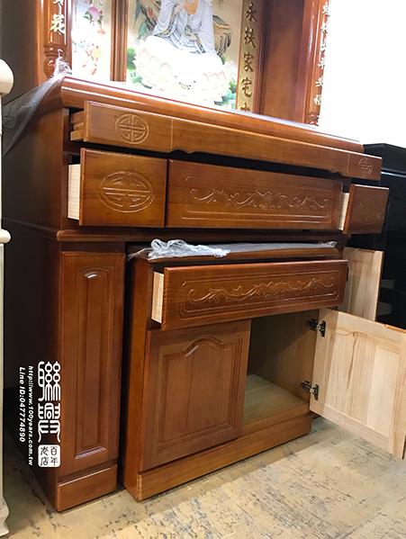 實木櫥 4